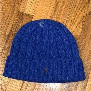 Ralph Lauren blue wool hat